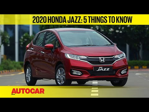 2020 Honda Jazz BS6 - 5 things to know   First Look   Autocar India