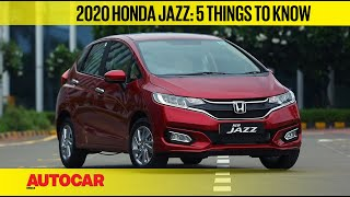 2020 Honda Jazz BS6 - 5 things to know | First Look | Autocar India