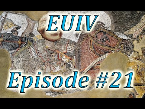Let's Play EUIV Indo-Greece Episode 21 (THE FALL OF ROME)
