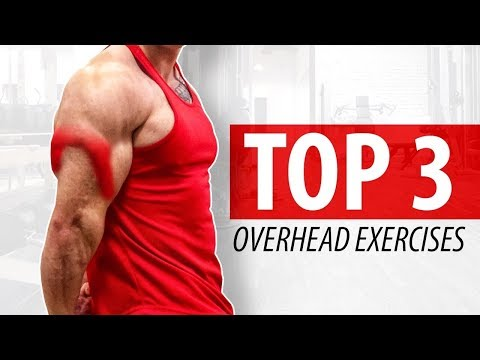Top 3 Overhead Tricep Exercises - BIG GAINS!