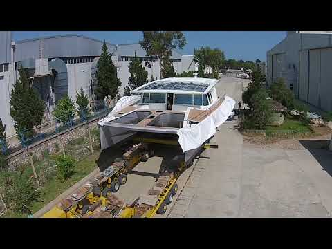 How to create solaryachts and solarboats - Solarwave 62/64 solar e-catamaran