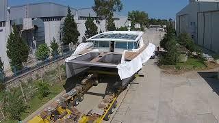 كيفية إنشاء solaryachts و solarboats - Solarwave 62/64 الشمسية e-طوف