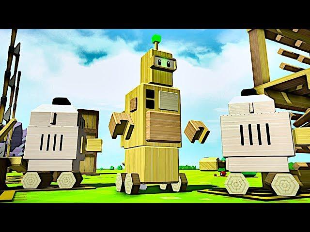 I Built a Bigger Robot to Rule Over My Smaller Robots - Autonauts