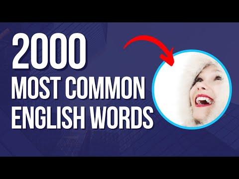 ● 2000 Palavras mais usadas em inglês vídeo #6 e Novidades | English Channel ✔