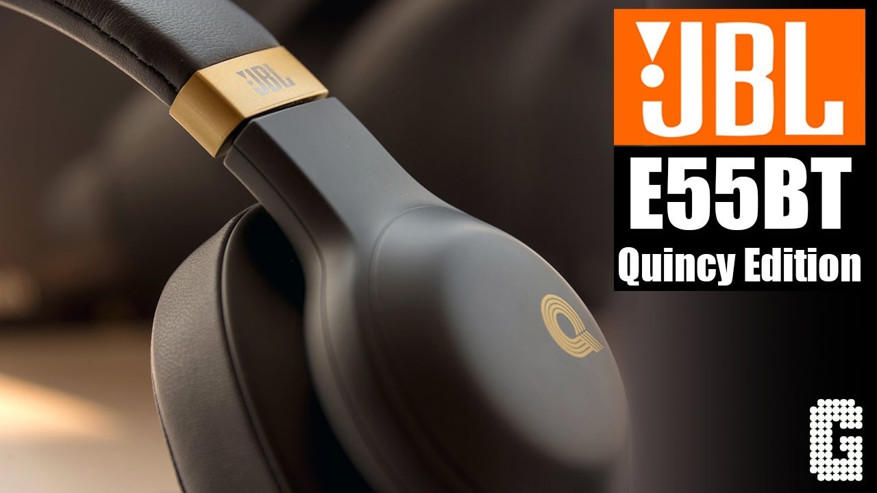 40353b643ed WIRELESS GOLD! : JBL E55BT Quincy Edition Review - YouTube