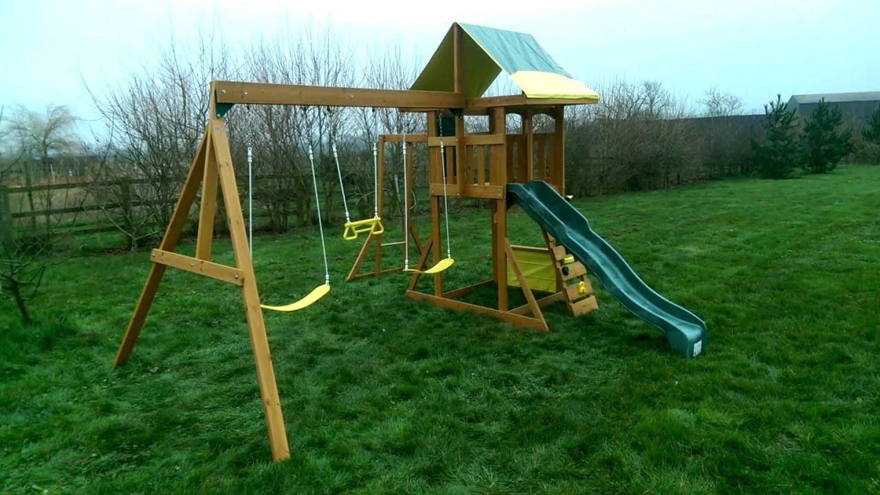 Big Backyard Brightside Wooden Play Centre