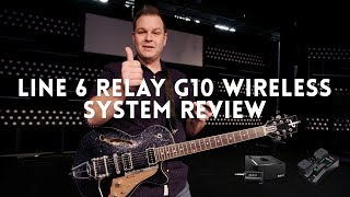 Line 6 Relay G10 Wireless Guitar System review // Wireless guitar system for less than $200!