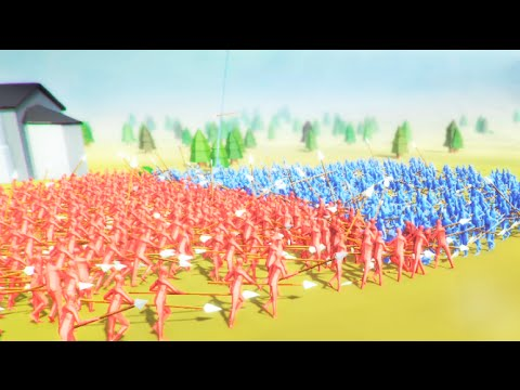+3000 GUERREROS ULTIMA BATALLA!! SIMULADOR totally accurate battle simulator