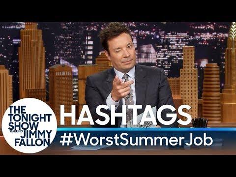 hashtags:-#worstsummerjob