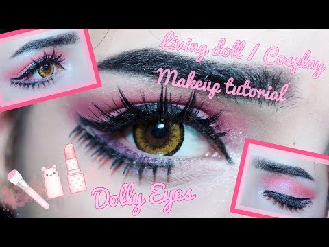 ♡ Living Doll (Dolly Eyes) / Cosplay Makeup Tutorial ♡