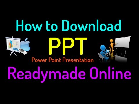 How To Download PPT (Power Point Presentation) Easy