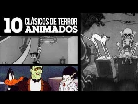 10 Clásicos de Terror Animados | LA ZONA CERO