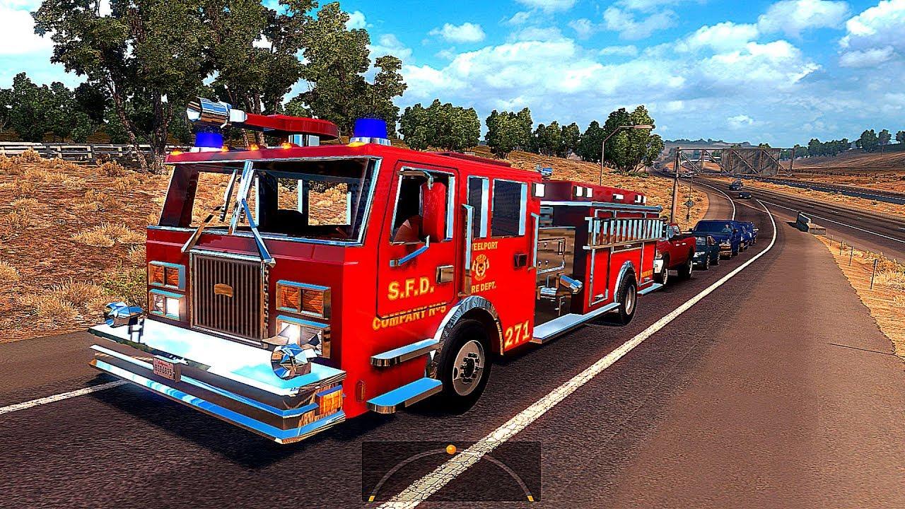 Видео про пожарные машины #9