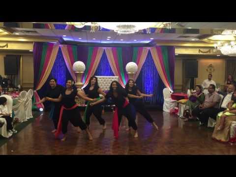 Indian Bridesmaids Dance - Bollywood/English Song Mix
