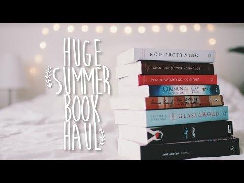 HUGE Summer Book Haul 2017!