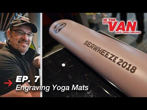 Laser Engraving Yoga Mats | Personalized Yoga Mats | Trotec