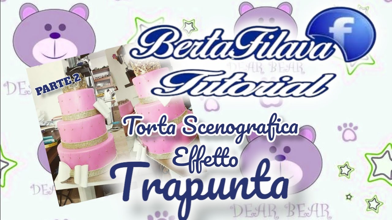 Vi mostreremo come realizzare un effetto trapuntato su una torta decorata. Tutorial 2 Effetto Trapunta Youtube