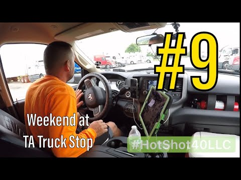 Ta Truck Service >> Hotshot Trucking Spending My 34 Hrs At Ta Truck Stop 9