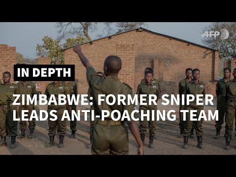 Former Australian sniper champions all women anti-poaching in Zimbabwe | AFP