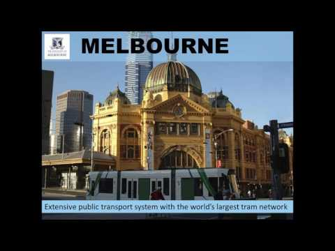 Webinar:  The University of Melbourne    Where your future collides with today