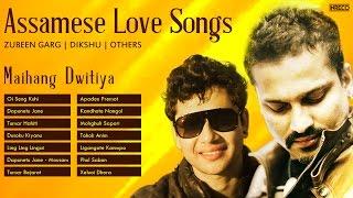 Best Of Zubeen Garg  Assamese Love  Songs  Dikshu  Assamese Songs
