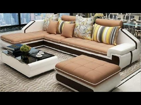 +100 Corner sofa set design ideas for modern living room decor 2020