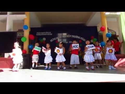Lời chào của em, Lớp Nhỡ 2, Trường Mầm non Tuổi Thơ, TP Đông Hà