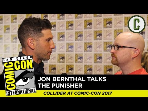 Jon Bernthal Talks The Punisher - Comic Con 2017