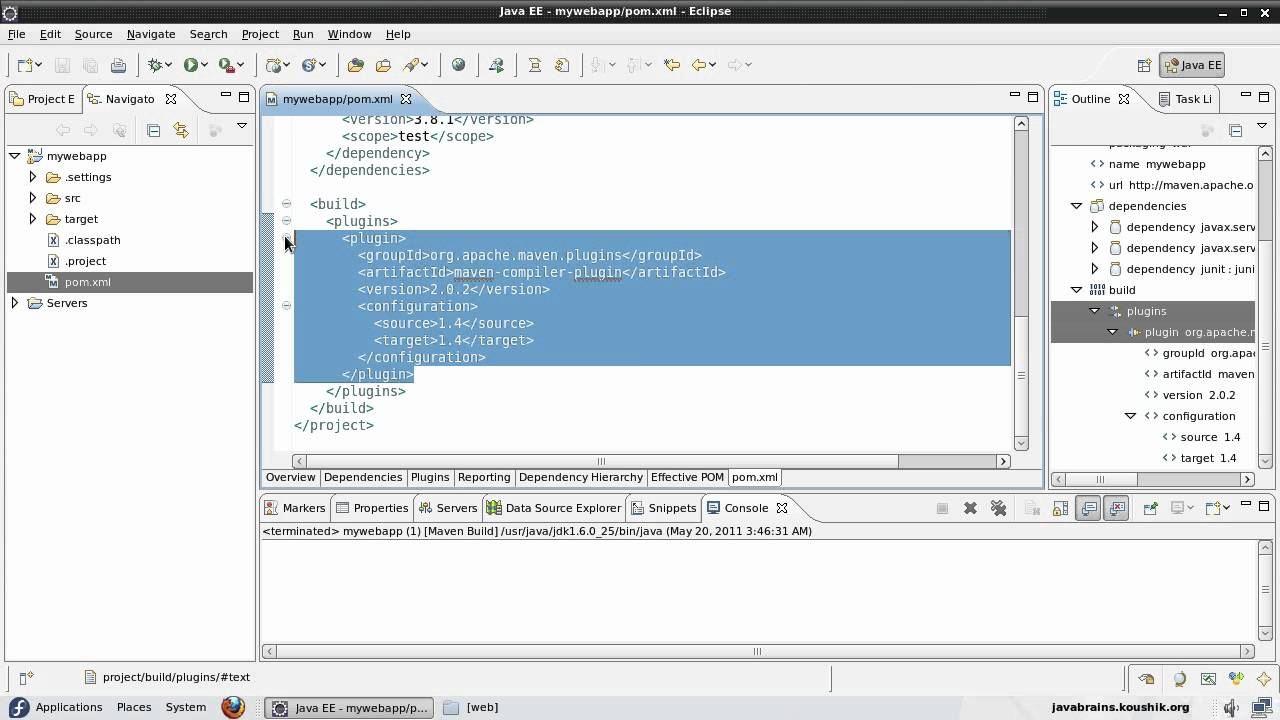 Maven Tutorial 09 - Creating a Maven Project in Eclipse