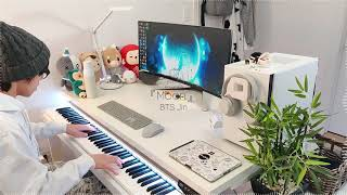 Cover images Playing BTS Jin 「Moon」 on Piano!