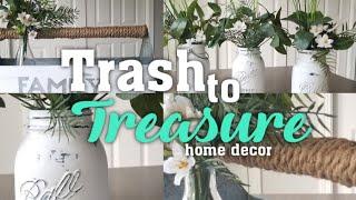 Trash to Treasure: Home decor