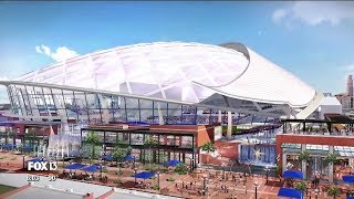 Tampa Bay Rays unveil Ybor City ballpark plan