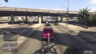 Delivering a small boat trailer gta v online