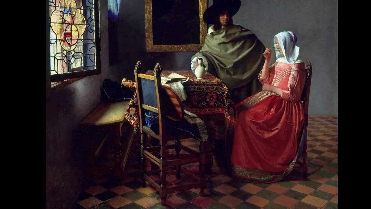 Vermeer The Glass Of Wine Youtube