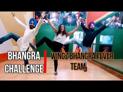 Aaja Ni Aaja | Kadar | Bhangra Challenge | Girl V/s Boys | Wingz Bhangra Fever | New Empire 2017