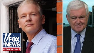 Gingrich reacts to Julian Assange arrest, charges
