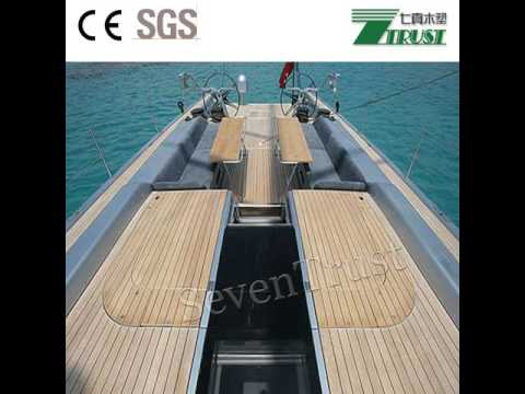 Boat Rubber Flooring Youtube
