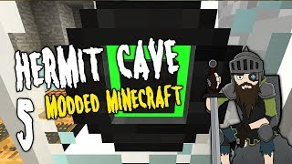 Hermit Cave: 5 | I found ENDLESS ENERGY! | Modded Minecraft