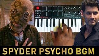 Spyder - Psycho Villian Bgm | Cover By Raj Bharath | Mahesh Babu |AR Murugadoss |Harris Jayaraj