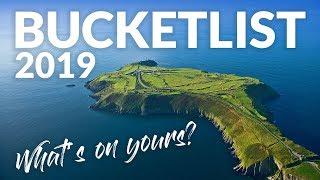 BUCKETLIST GOLF COURSES: My Top Courses for 2019 - What's on your list??