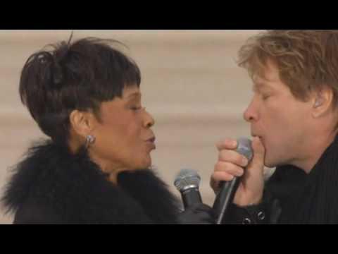 Jon Bon Jovi - A Change Is Gonna Come (Washington, D C, 18-JAN-2009)