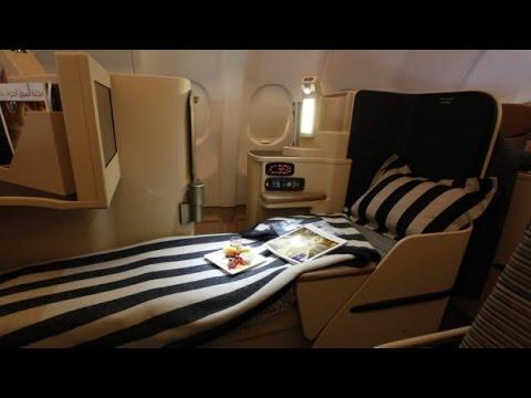 Etihad Business Class To Abu Dhabi !!