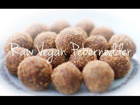 Raw Vegan Pebernødder