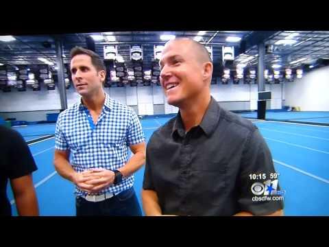 Cheer Athletics Panthers on CBS news 12/8/12