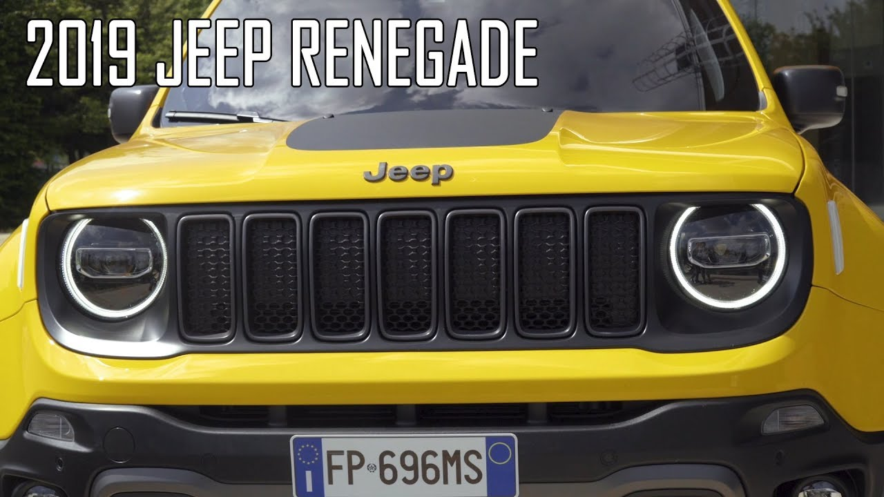 2019 Jeep Renegade Trailhawk Limited Youtube