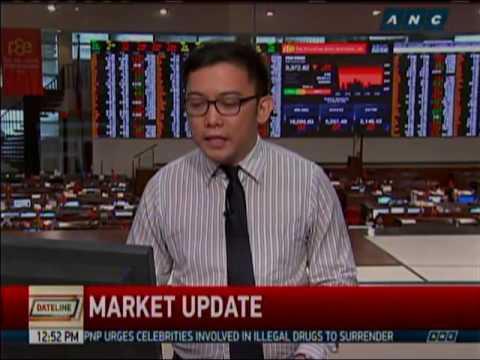 Philippine Stock Exchange LIVE REPORT