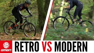 modern vs retro road bike