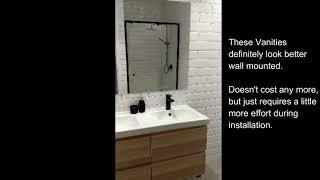 Modern IKEA Bathroom without breaking the Bank.