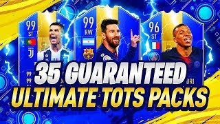 35X GUARANTEED ULTIMATE TOTS PACKS! - FIFA 19 Ultimate Team