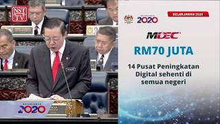 2020 Budget: RM70 million for Digital Enhancement Centres nationwide